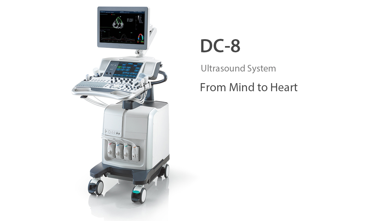 Ultrason Dc-8 Ultrasound System From Mind To Heart